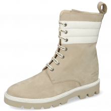 Boots Selina 69 Como Sabbia White Nappa Beige