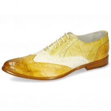Oxford shoes Keira 10 Imola Turtle Sun White Cedro Ocra