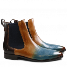 Ankle boots Emma TM/8 Crust Shade Orange Bluette Tan Dark Brown Elastic Navy LS