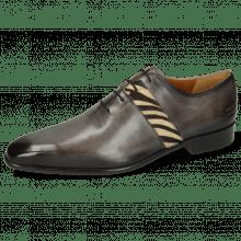 Oxford shoes Lance 60 Grigio Hairon Zebra