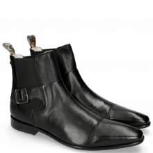 Ankle boots Elvis 61 Pavia Black Loop Camo