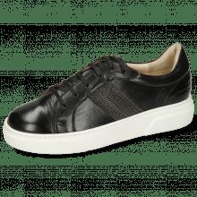 Sneakers Hailey 17 Nappa Glove Black Strap Metal