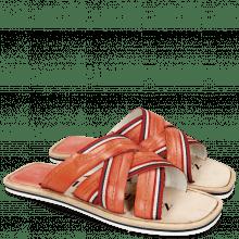 Sandals Bob 2 Vegas Earthly Straps Modica White