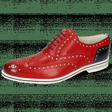 Oxford shoes Scott 12 Vegas Ruby Underlay White