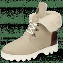 Ankle boots Greta 1 Como Sabbia Crock Chestnut Sherling