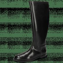 Boots Susan 53 A Black Rivets