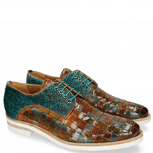 Derby shoes Brad 7 Classic Woven Multi