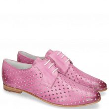 Derby shoes Monica 2 Vegas Perfo Diamond Lilac