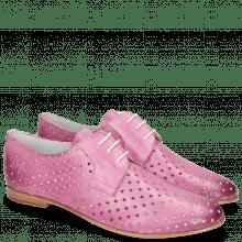 Derby shoes Monica 2 Vegas Perfo Diamond Lilac