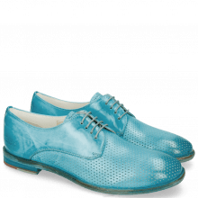 Derby shoes Jenny 8 Perfo Ice Blue