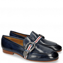 Loafers Clive 10 Marine Strap 15-F5