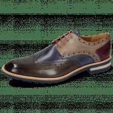 Derby shoes Eddy 5 Deep Steel Sky Blue Oxygen Eggplant Aspen Navy