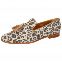 Loafers Scarlett 20 Suede Leo Off White