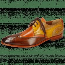 Derby shoes Elvis 63 Wood Arancio Sun