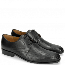 Derby shoes Rico 1 Rio Perfo Black