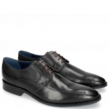 Derby shoes Victor 1 Rio Navy Red Laces