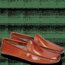 Loafers Home Donna Orange Sock Fur