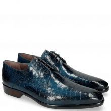 Derby shoes Lance 8 Crock Mid Blue Lining Purple