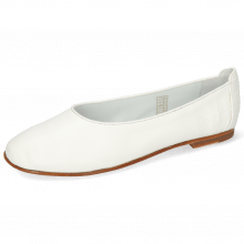 Ballet Pumps Iris 9 Nappa White Flex