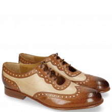 Oxford shoes Sally 101 Tan Nude