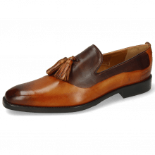 Loafers Leonardo 24 Tan Shade Dark Brown