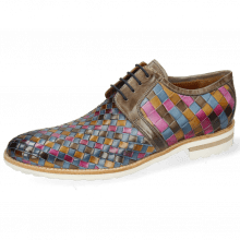 Derby shoes Brad 1 Vegas Woven Multi Stone