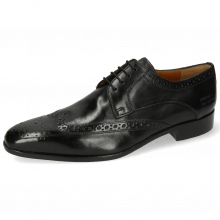 Derby shoes Lewis 3 Imola Black Lining Rich Tan