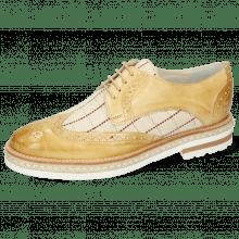 Derby shoes Amelie 3 Imola Beige Line Natural