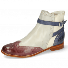 Ankle boots Selina 25 Vegas Light Purple Oxygen White Avio Strap