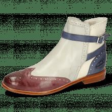 Ankle boots Selina 25 Vegas Light Purple Oxygen White Avio Strap