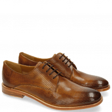 Derby shoes Amelie 14 Perfo Tan