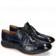Derby shoes Blair 2 Turtle Navy RS Orange