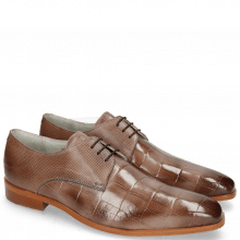 Derby shoes Lewis 13 Turtle Ash Dice Nappa