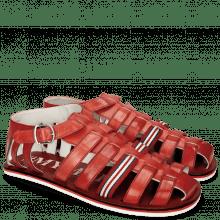 Sandals Sam 3 Ruby Strap White