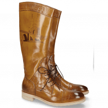 Ankle boots Tom 16 Big Croco Sand