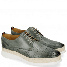 Derby shoes Regine 1 Perfo Square Clear Water