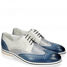 Derby shoes Kane 5 Vegas Mock Navy Grafi Silver Blue Digital