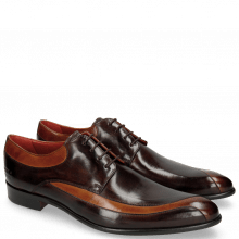 Derby shoes Toni 36 Tan Mogano