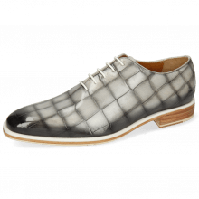 Oxford shoes Jeff 47 Vegas Turtle Oxygen Shade Grigio Washed