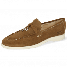 Loafers Earl 3 Suede Pattini Tan