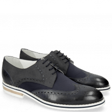 Derby shoes Kane 5 Lycra Navy Nubuck Deep Navy