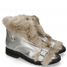 Ankle boots Greta 4 Talca Steel Fur Taupe