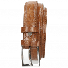 Belts Linda 1 Crock Tan Classic Buckle