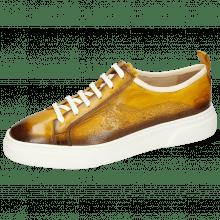Sneakers Harvey 21 Vegas Ocra Shade Dark Brown