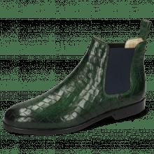 Ankle boots Susan 10 Crock Pine Elastic Navy