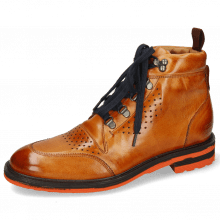 Ankle boots Trevor 5 Winter Orange Laces Blue