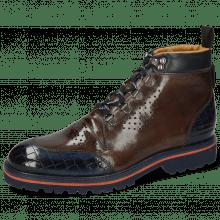 Ankle boots Trevor 5 Crock Marine Stone Nappa