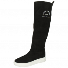 Boots Hailey 11 Suede Black Rubber Print M&H