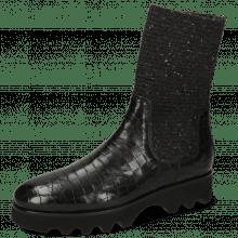 Boots Susan 69 Crock Black