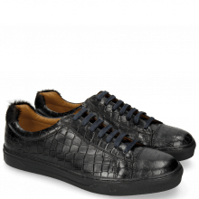 Sneakers Adrian 1 Crock Black Hair On Breeze Turchese